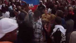 Haitian Dancing Ga Ga For Obama In Miami With Fernando Villalona Feli Cumbe Merengue Ga Ga
