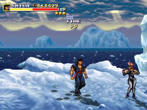Streets of rage Remake v5 MOD The Hydra (Hard Type) Shiva Run