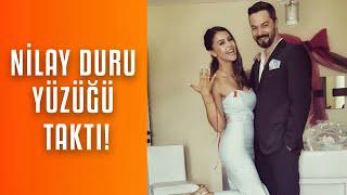 Magazin Dünyasından Mutlu Haber Ünlü Oyuncu Nilay Duru Evliliğe İlk Adımı Attı