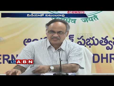 AP Planning Commission Vice President Kutumba Rao speaks to media | ABN Telugu
