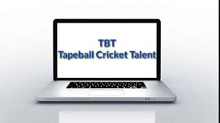 Tapeball Cricket Talent intro