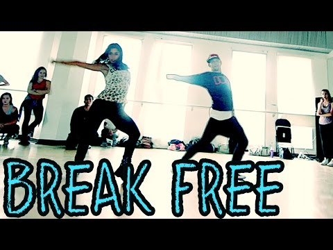 BREAK FREE - @ArianaGrande ft @Zedd Dance Video | @MattSteffanina Choreography