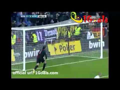 Real Madrid vs Athletic Bilbao 4-1 Ronaldo Penalty Goal 22.1.2012 Spain Primera Liga