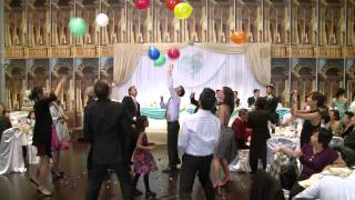 Funny Balloon Game at A Wedding Reception in Toronto | GTA Wedding Videographer Photographer