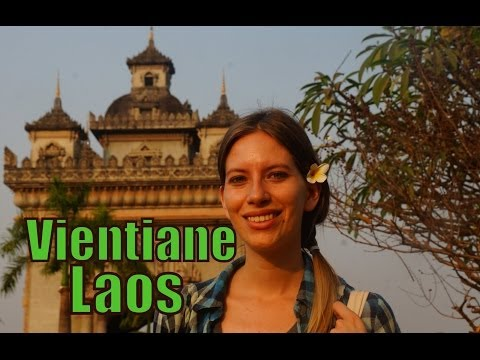 Our first impressions of Vientiane, Laos