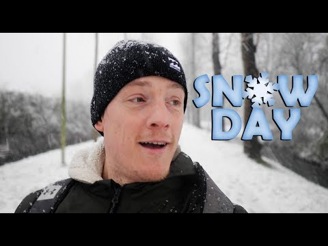 Sudden Snow In Holland! (Panasonic GH5 Gets A Snow Beating!)