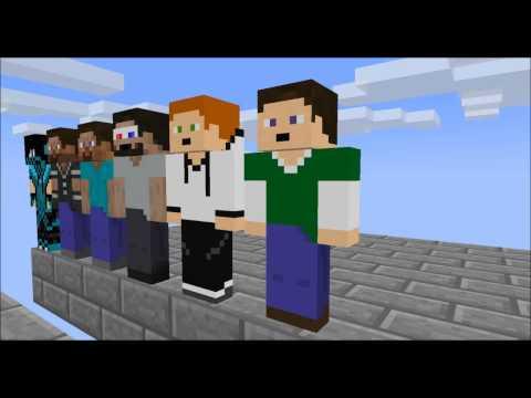 Minecraft Аниманиции Школа игроков Эпизод 2 Паркур