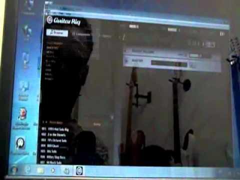 gilneyparson  instalando a guitar link e configurando no guitar rig 5