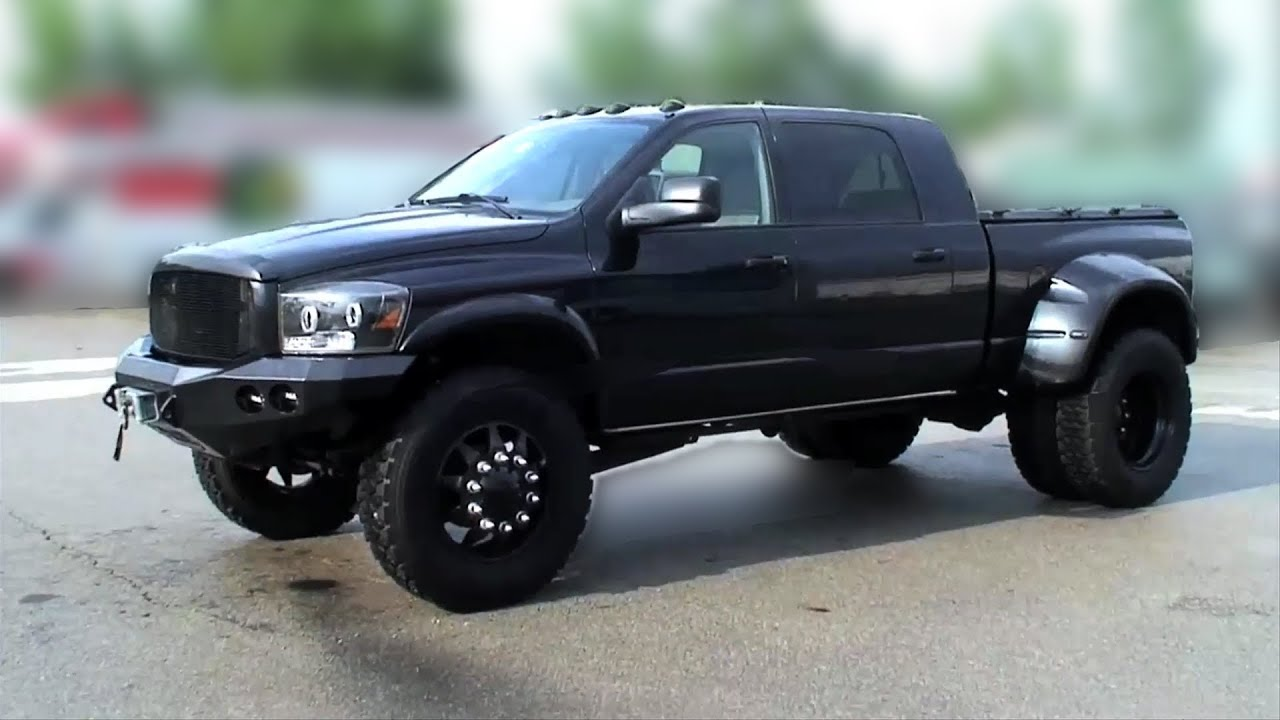 Dodge Ram 2016 Diesel >> Optimus 1200HP Dodge Ram 3500 Twin Turbo Megacab Dually - YouTube