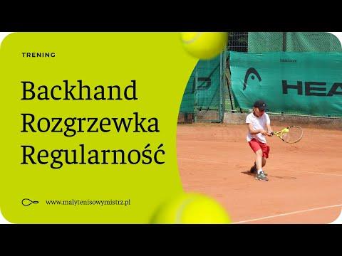 Lekcja Tenisa Nr 3 - Rozgrzewka / Technika Bekhendu / Regularność / Dyscyplina / Trening Tenisowy