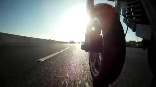 2009 Ducati Sport 1000 Biposto in Bay Area Traffic Part 2 Go Pro HD Hero