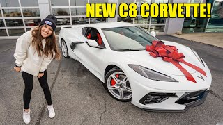 TAKING DELIVERY OF MY NEW C8 CORVETTE!!