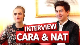 Cara Delevingne & Nat Wolff CONFESSION - What do you think about each other?