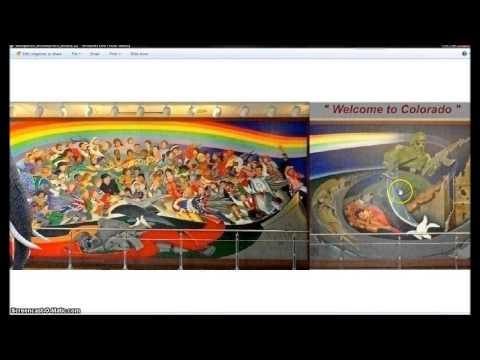 Part 2. Where The Ufo Lands In Southern California. Illuminati Freemason Symbolism. video