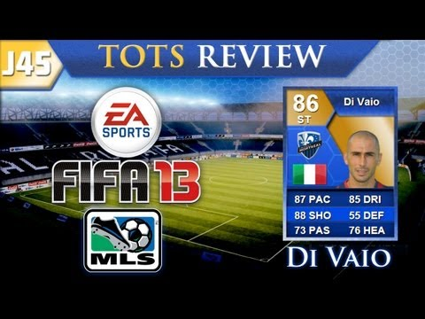 FIFA 13 Ultimate Team   Player Reviews   TOTS Di Vaio!