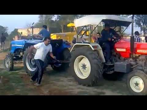 sawraj 855 vs Sonalika 60 tractors