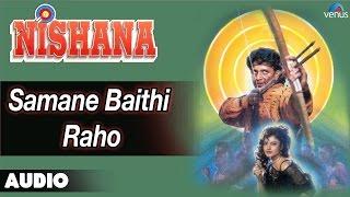 Nishana : Samane Baithi Raho Full Audio Song | Rekha, Mithun Chakraborthy |