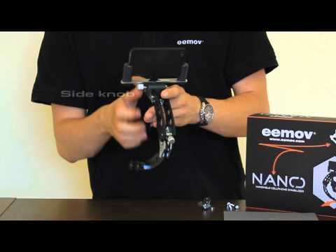 NANO Cell Phone Stabilizer by eemov - demo