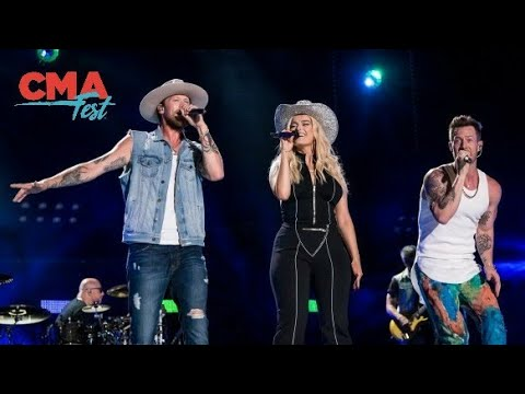 Florida Georgia Line & Bebe Rexha: Meant To Be (Live at CMA Fest 2018)
