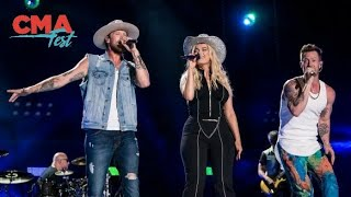 Download Lagu Florida Georgia Line & Bebe Rexha: Meant To Be (Live at CMA Fest 2018) Gratis STAFABAND
