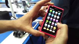 First look at Nokia N9 from communicasia