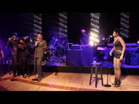 Steve Harvey & Jennifer Hudson JAM Session