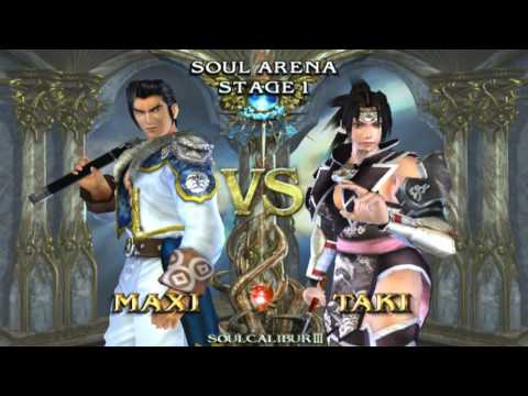 Soul Calibur 3 on PCSX2 Playstation 2 Emulator (720p HD)