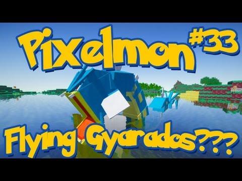 Pixelmon Minecraft Pokemon Mod Season 2 Lets Play! Episode 33 - Flying Gyarados???