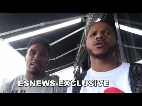 Anthony Dirrell Jarrett Hurd on BRONER VS DANNY GARCIA EsNews Boxing