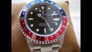 My 2006 Rolex GMT Master II - Red/Blue