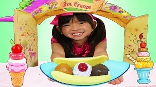 Ice Cream Song | + More Nursery Rhymes Kid Sing A Long Songs w/ Emma Jannie & Wendy