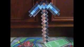 Minecraft Из Бумаги - 100 Алмазная Кирка