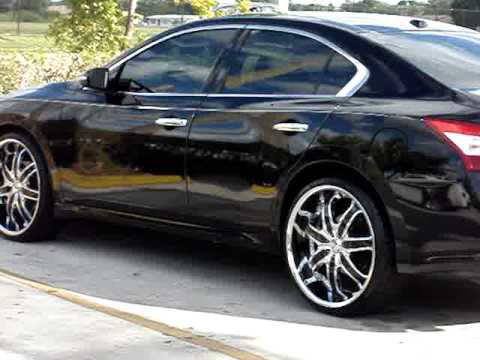 2010 Nissan Maxima On 24 Quot Rims Youtube