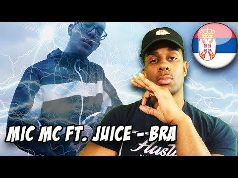 BALKAN RAP REACTION | MIC-MC FT JUICE-BRa (OFFICIAL VIDEO)