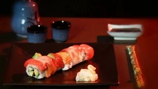 How to Make a Rainbow Roll | Sushi Lessons