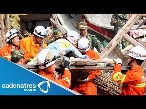 Mueren más de 90 personas a causa de un terremoto de 6.6 en China