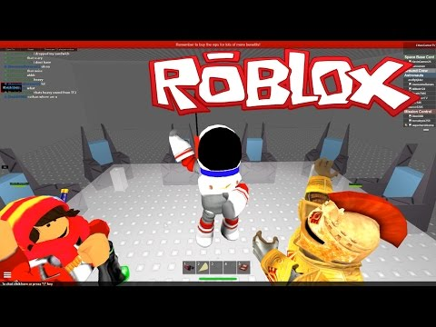 RIDING A ROCKET TO SPACE!! Roblox