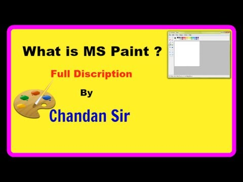 What is Ms Paint (Diploma in Computer Application) # 3
