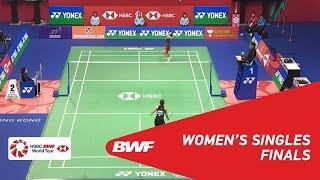 F | WS | Nozomi OKUHARA (JPN) [7] vs Ratchanok INTANON (THA) [6] | BWF 2018