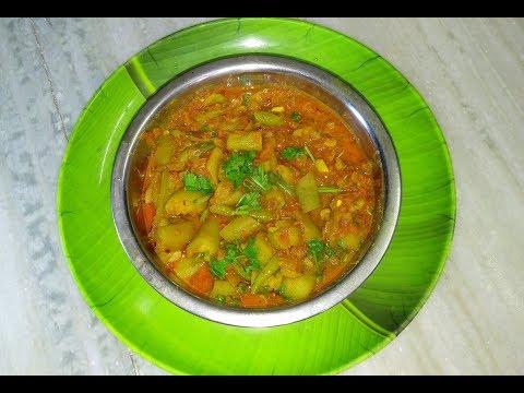 Beerakaya Tomato Masala curry