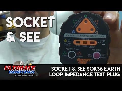 Socket & See SOK36   Earth loop impedance test plug
