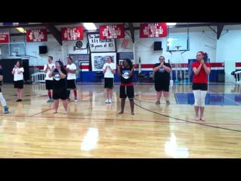 Hendersonville Christian School - 10th Grade cheer