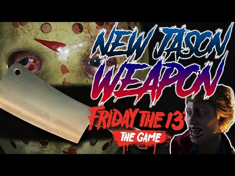 NEW Jason Weapon CONFIRMED!! | Part 4 Jason | Friday the 13th: The Game