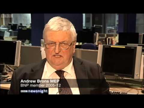 Far right in British politics on the wane. BBC Newsnight 10-04-2013
