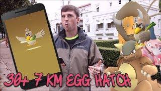 Hatching 30+ 7KM Eggs That Can Hatch Regional Pokemon In Pokemon Go