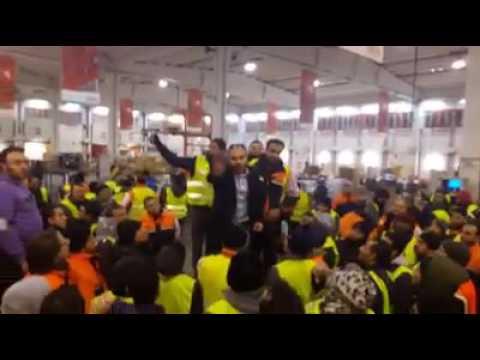 15/12/2016 I lavoratori della Tnt respingono i Licenziamenti.