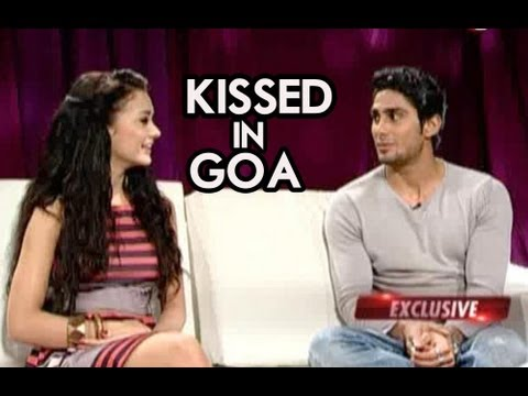 Prateik Babbar &amp; Amy Jackson talk about their kiss in Goa