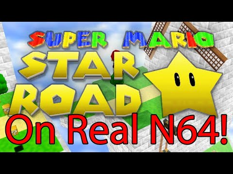 Super Mario Star Road - Now playable on real N64