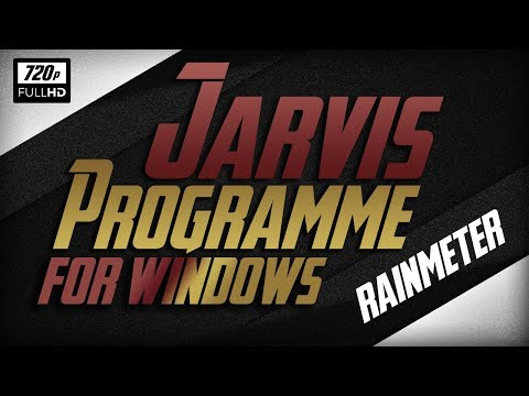 How to Download and Install Rainmeter (Jarvis) Theme Step by Step Must Watch!