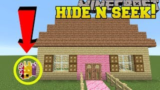 Minecraft: SILVERFISH HIDE AND SEEK!! - Morph Hide And Seek - Modded Mini-Game